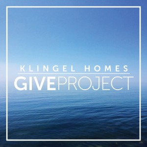 Klingel Homes GIVE PROJECT