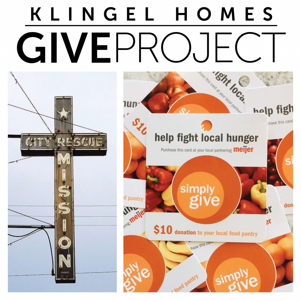 November GIVE Project – Muskegon Rescue Mission